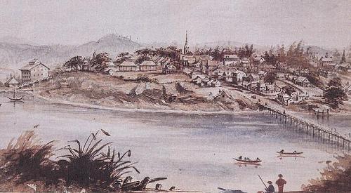 Sketch By Sara Crease 1859 Victoria